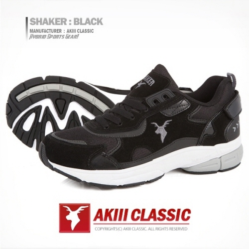 [아키클래식]AKIII CLASSIC -  - 쉐이커(SHAKER)  블랙 운동화