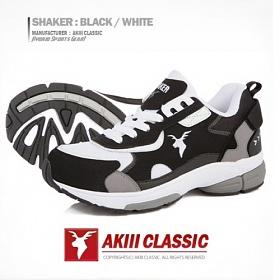 [아키클래식]AKIII CLASSIC -  - 쉐이커(SHAKER)  블랙/화이트 운동화