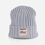 [오피셜]OFFICIAL -  Gray Logo Cable Knit KSMU-0008 비니