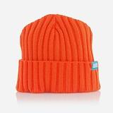 [오피셜]OFFICIAL -  Cable Knit Orange KSMU-0039 케이블 니트 비니