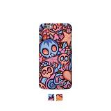 인피스 갤럭시노트4 패턴케이스 스컬그래피티_핸드폰케이스 디자인케이스