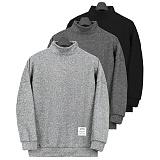 [쟈니웨스트] JHONNYWEST - Half Napping Turtleneck 니트 터틀넥 목폴라 티셔츠