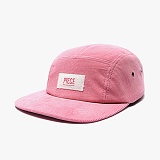 [피스메이커]PIECE MAKER - PIECE BOX CORDUROY CAMP CAP (PINK) 코듀로이 캠프캡 모자