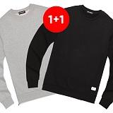 ★1+1상품★밴웍스 사이드지퍼 무지 스웨트셔츠 4colors(V15TS411) 맨투맨 크루넥