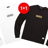 ★1+1상품★밴웍스 크로스오버 맨투맨 티셔츠(V15TS412) 맨투맨 크루넥