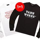 ★1+1상품★밴웍스 MAIN LOGO SWEATSHIRT(V15TS413) 맨투맨 크루넥