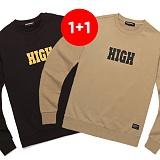 ★1+1상품★밴웍스 HIGH SWEATSHIRT(V15TS414) 맨투맨 크루넥