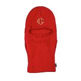 [크룩스앤캐슬]CROOKS & CASTLES Knit Ski Mask - Holy Grail (True Red) 니트 스키 마스크
