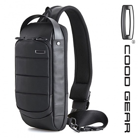 [쿠드기어]COODGEAR - ACE 005 SLING BAG (Black) 슬링백