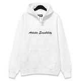 [코싸] koxa artistic-p hoodie white 후드티