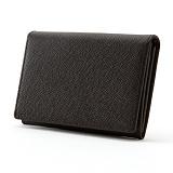 [매니퀸] 카드/명함지갑 - 사피아노 다크브라운 카드지갑 명함지갑