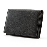 [매니퀸] 카드/명함지갑 - 사피아노 블랙 카드지갑 명함지갑