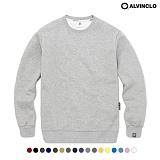 [앨빈클로]ALVINCLO MAR-630G 활용도 높은 따뜻한 베이직 맨투맨 크루넥 스��셔츠