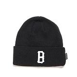 [블랙스케일]BLACK SCALE B Logo Beanie (Black) 비니
