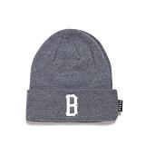 [블랙스케일]BLACK SCALE B Logo Beanie (Grey) 비니
