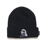 [블랙스케일]BLACK SCALE Knight Helmet Beanie (Black) 비니