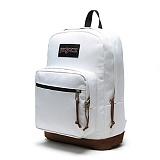[잔스포츠]JANSPORT - 라이트팩 오리지널 (TYP7WHX - White) 잔스포츠코리아 정품 AS가능 백팩 가방 스쿨백 데이백 데일리백