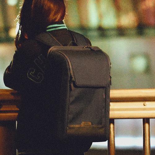 [에이치티엠엘]HTML - Edge U7 Backpack (NAVY) 엣지 백팩 신학기 학생 비즈니스 가방