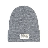 STIGMA - NAME LABEL BEANIE GREY_비니_모자