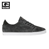[GLOBE] LOS ANGERED LOW (DISTRESSED BLACK)