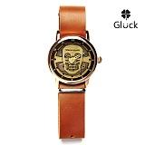 [Gluck] 글륵 행운의 수공예 시계 Steampunk-skull-PD 본사정품