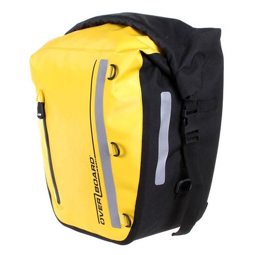 [오버보드]OVER BOARD -  클래식 시리즈 방수 자전거 짐 가방 - 17리터 옐로우 자전거 패니어 [OB1159Y]