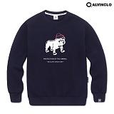 [앨빈클로]ALVINCLO MAR-789N기모 맨투맨 크루넥 스��셔츠