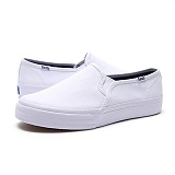 [케즈]Keds - DOUBLE DECKER SEASONAL SOLIDS (WHITE) KDWF53109 더블데커 스니커즈
