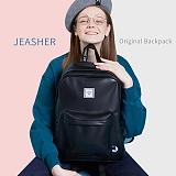 [제이아셀] JEASHER - Original Backpack (BK)_ 학생가방 백팩 가죽백팩