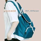 [제이아셀] JE ASHER - Classic Onepocket Backpack (BL)_신학기백팩 학생가방 백팩