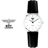 [BOY LONDON] 보이런던 BLD5135L-SV 여성용 가죽 손목시계[한국본사정품]