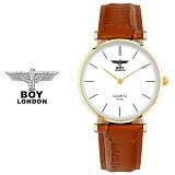 [BOY LONDON] 보이런던 BLD5135M-GD 남녀공용 가죽 손목시계[한국본사정품]