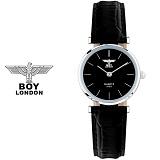 [BOY LONDON] 보이런던 BLD5135L-BK 여성용 가죽 손목시계[한국본사정품]