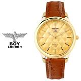 [BOY LONDON] 보이런던 BLD5155M-GD 남성용 가죽 손목시계[한국본사정품]