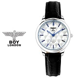 [BOY LONDON] 보이런던 BLD5155L-SV 여성용 가죽 손목시계[한국본사정품]