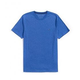 타미힐피거 맨즈 라운드 반팔 티셔츠 094 블루 남녀공용 정품 국내배송