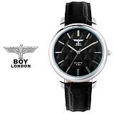 [BOY LONDON] 보이런던 BLD5155M-BK 남성용 가죽 손목시계[한국본사정품]
