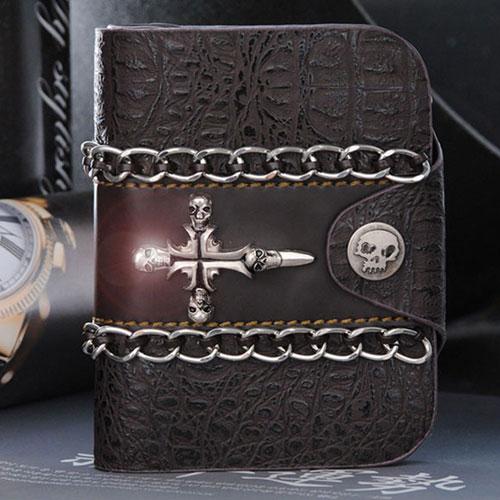 [포레스트레이크]Forest Lake -  Vintage Leather Wallet (WA-1753) 빈티지 레더 지갑