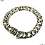 SEXTO - M-3 chain bracelet (silver) 체인팔찌 팔찌