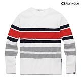 [앨빈클로]ALVINCLO AVT-371R 착용감이 좋은 시원한 긴팔 티셔츠/ 남자 여자 커플룩 롱 슬리브