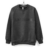 [레이쿠] reiku original logo16 mtm-j charcoal 쭈리 맨투맨