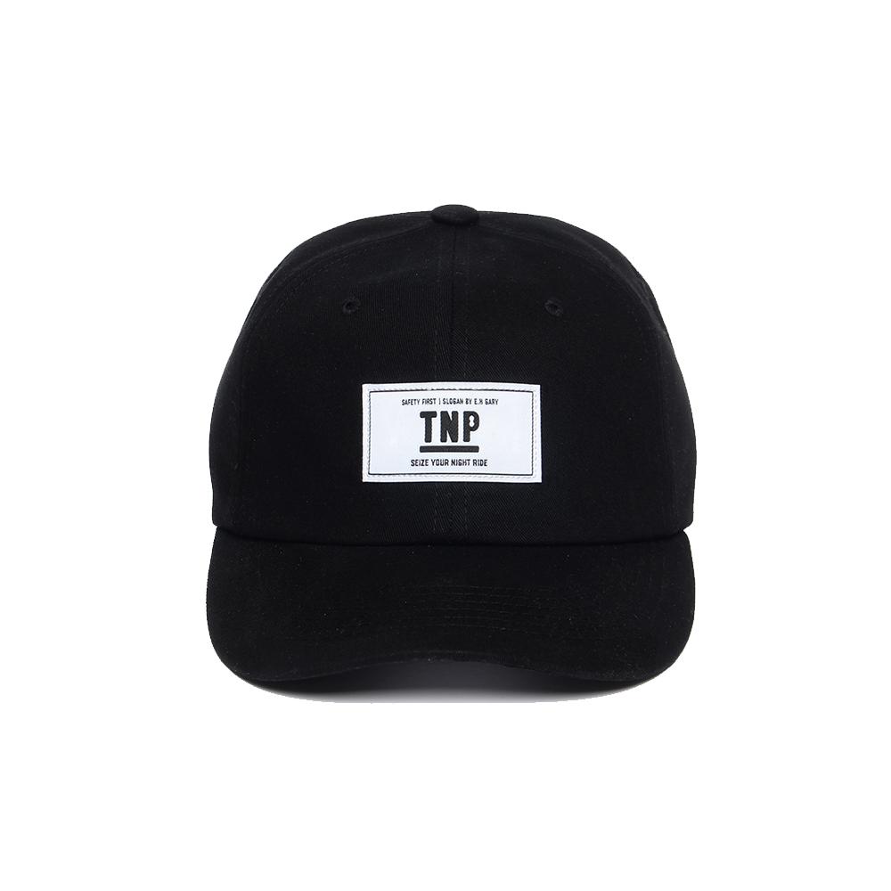 [티엔피]TNP - OG BOX LOGO BALL CAP - BLACK 볼캡 야구모자