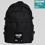 [크림스랩]CREAMS LAB - 맥스백 (MAX BAG) 올블랙 가방 학생 백팩