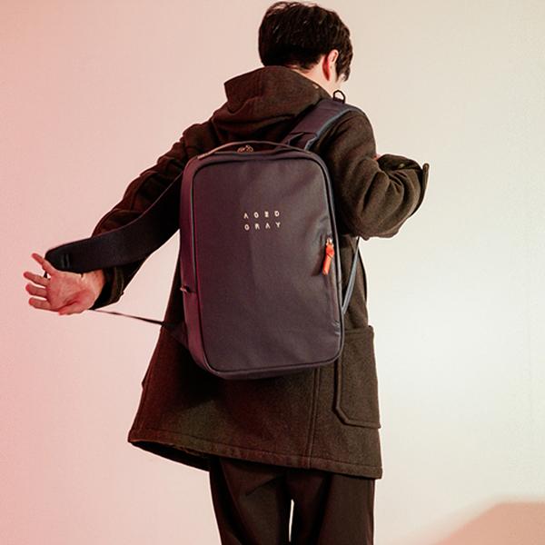 [에이지그레이]AGEDGRAY - AA04FNY(Navy) 가방 백팩 backpack 가방 네이비 학생가방 신학기