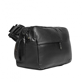 [노트 볼펜 증정][인케이스]INCASE - Ari Marcopoulos Camera Bag CL58107 (Black Leather) 인케이스코리아 카메라가방