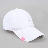 [러쉬오프]RUSH OFF - [UNISEX]TWO STICH  BALL CAP - WHITE / 투 스티치 볼캡 -화이트