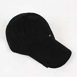 [러쉬오프]RUSH OFF - [UNISEX]TWO STICH  BALL CAP - BLACK / 투 스티치 볼캡 - 블랙