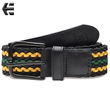 [Etnies] STAND UP BELT (Black/Green)