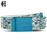 [ETNIES] STAPLE GRAPHIC WEB BELT (WHITE/LT GREY)