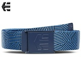 [ETNIES] STAPLE GRAPHIC WEB BELT (NAVY/ROYAL)